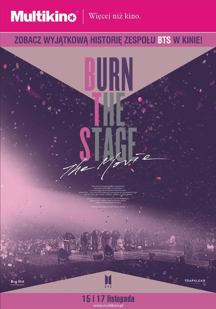 BURN THE STAGE: THE MOVIE 15 i 17 listopada tylko w Multikinie!